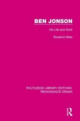 Ben Jonson book