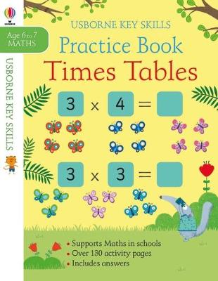Times Tables Practice Book 6-7 book