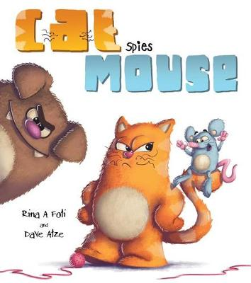 Cat Spies Mouse by Rina A. Foti