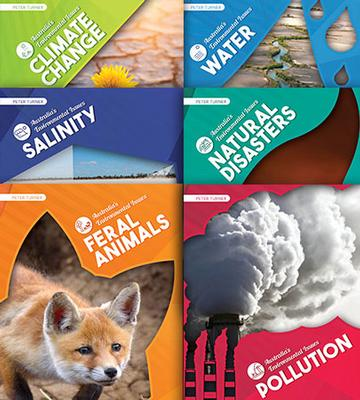 Australia's Environmental Issues 6 Book Set by Peter Turner