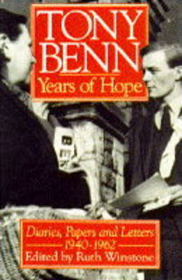 Years of Hope by Tony Benn