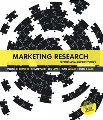 Marketing Research: Asia Pacific Edition with Student Resource Access 12 Months by Hume Winzar