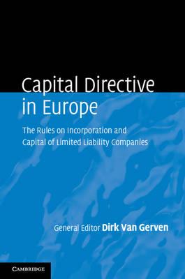 Capital Directive in Europe by Dirk Van Gerven