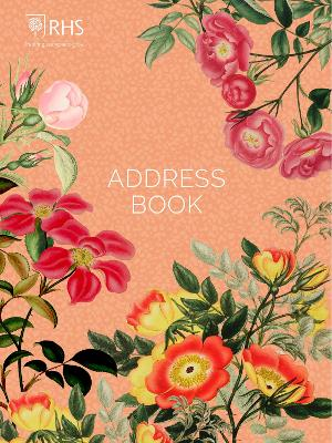 Royal Horticultural Society Desk Address Book by Royal Horticultural Society