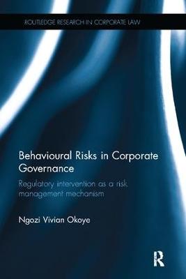 Behavioural Risks in Corporate Governance by Ngozi Vivian Okoye