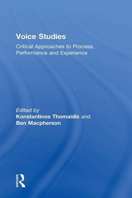 Voice Studies book
