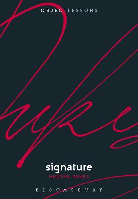 Signature by Dr. Hunter Dukes