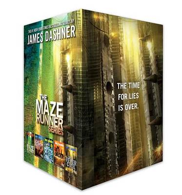 Maze Runner Series Complete Collection Boxed Set by James Dashner