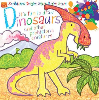 It's Fun To Draw: Dinosaurs And Other Prehistoric Creatures by Mark Bergin