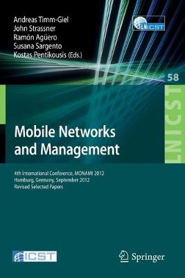 Mobile Networks and Management by John  Strassner