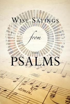 Wise Sayings from the Psalms by Kate Kirkpatrick