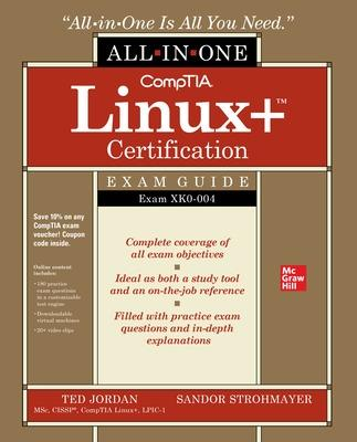 CompTIA Linux+ Certification All-in-One Exam Guide: Exam XK0-004 book