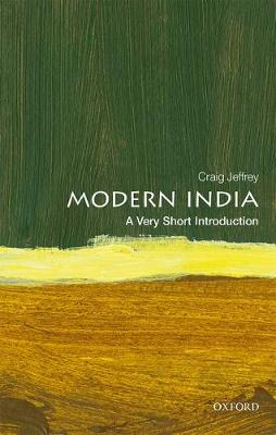 Modern India: A Very Short Introduction by Craig Jeffrey
