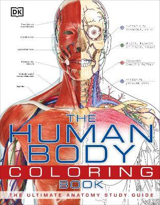 Human Body Coloring Book book