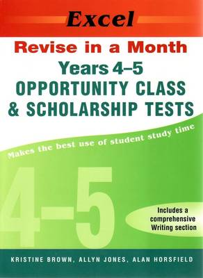 Opportunity Class Tests: Year 4 book