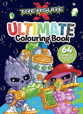 TREASURE X ULTIMATE COLOURING book
