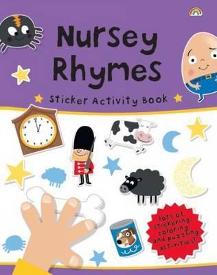 Sticker Activity Book - Nursery Rhymes by The Boy Fitz Hammond