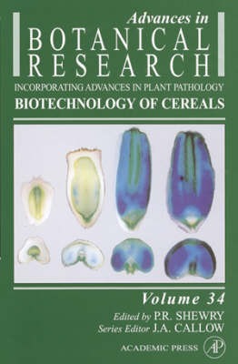 Advances in Botanical Research: v. 34: Biotechnology of Cereals by J. A. Callow