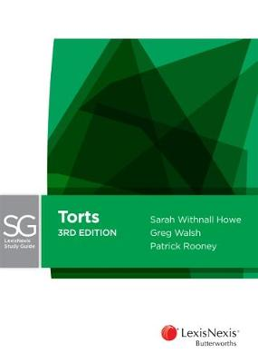 LexisNexis Study Guide Torts by S W Howe