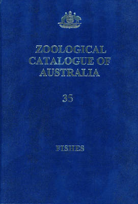 Zoological Catalogue of Australia book