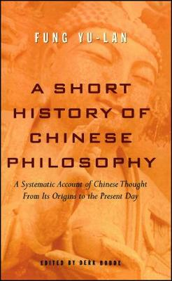 Short History of Chinese Philosophy book