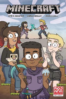 Minecraft Volume 1 (graphic Novel) book