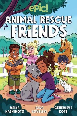 Animal Rescue Friends book