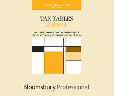 Tax Tables Finance Act No.3 2010/11 by Grant Thornton
