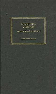 Hearing Voices by Lisa Blackman