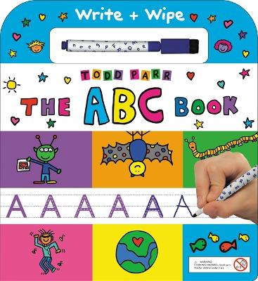 The ABC Book: Write + Wipe by Todd Parr