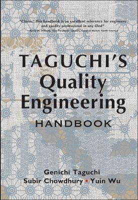 Taguchi's Quality Engineering Handbook book