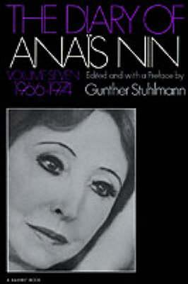 Diary of Anais Nin 1966-1974 book