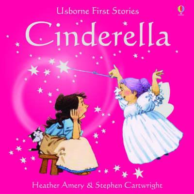 Usborne Fairytale Sticker Stories Cinderella by Heather Amery