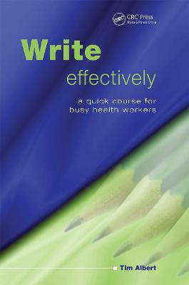Write Effectively by Tim Albert