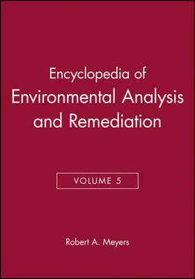 Encyclopedia of Environmental Analysis and Remedia book