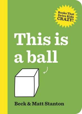 This Is a Ball book