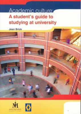 Academic Culture by Jean Brick