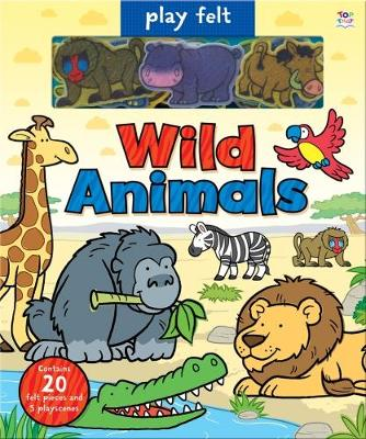 Play Felt Wild Animals by Oakley Graham