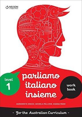 Parliamo Italiano Insieme 1 Workbook with USB by Michela Pelizzon