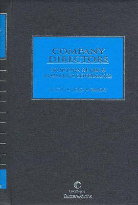 Company Directors: Principles of Law and Corporate Governance by Ford & Ramsay Austin
