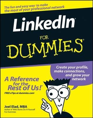 LinkedIn For Dummies book