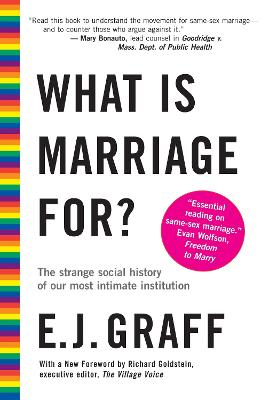 What Is Marriage For? book
