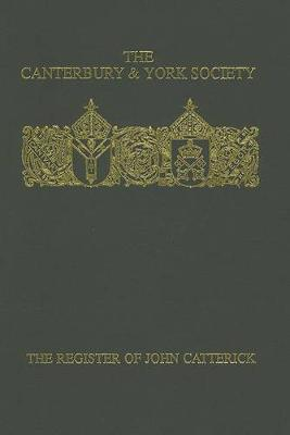 Register of John Catterick, Bishop of Coventry and Lichfield, 1415-19 book