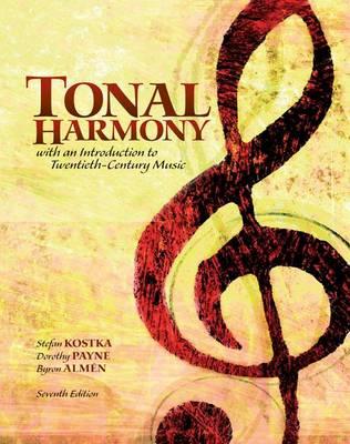 Tonal Harmony with Workbook by Stefan Kostka