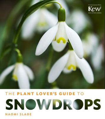 The Plant Lover's Guide to Snowdrops by Naomi Slade