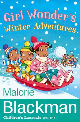 Girl Wonder's Winter Adventures by Malorie Blackman