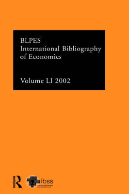 IBSS: Economics by Compiled by the British Library of Political and Economic Science