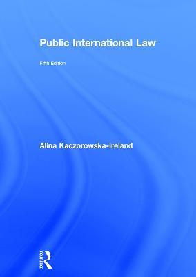 Public International Law book