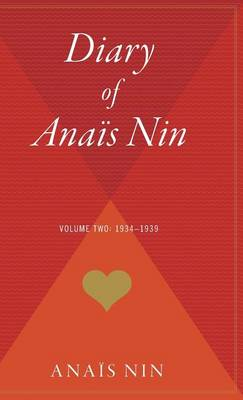 Diary of Anais Nin V02 1934-1939 book