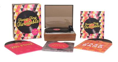 Teeny-Tiny Turntable: Includes 3 Mini-LPs to Play! by Running Press